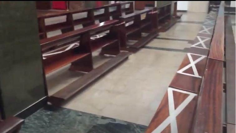 Tutorial per accedere alla chiesa per la messa